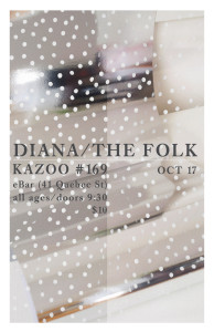 Kazoo! #169: DIANA / THE FOLK