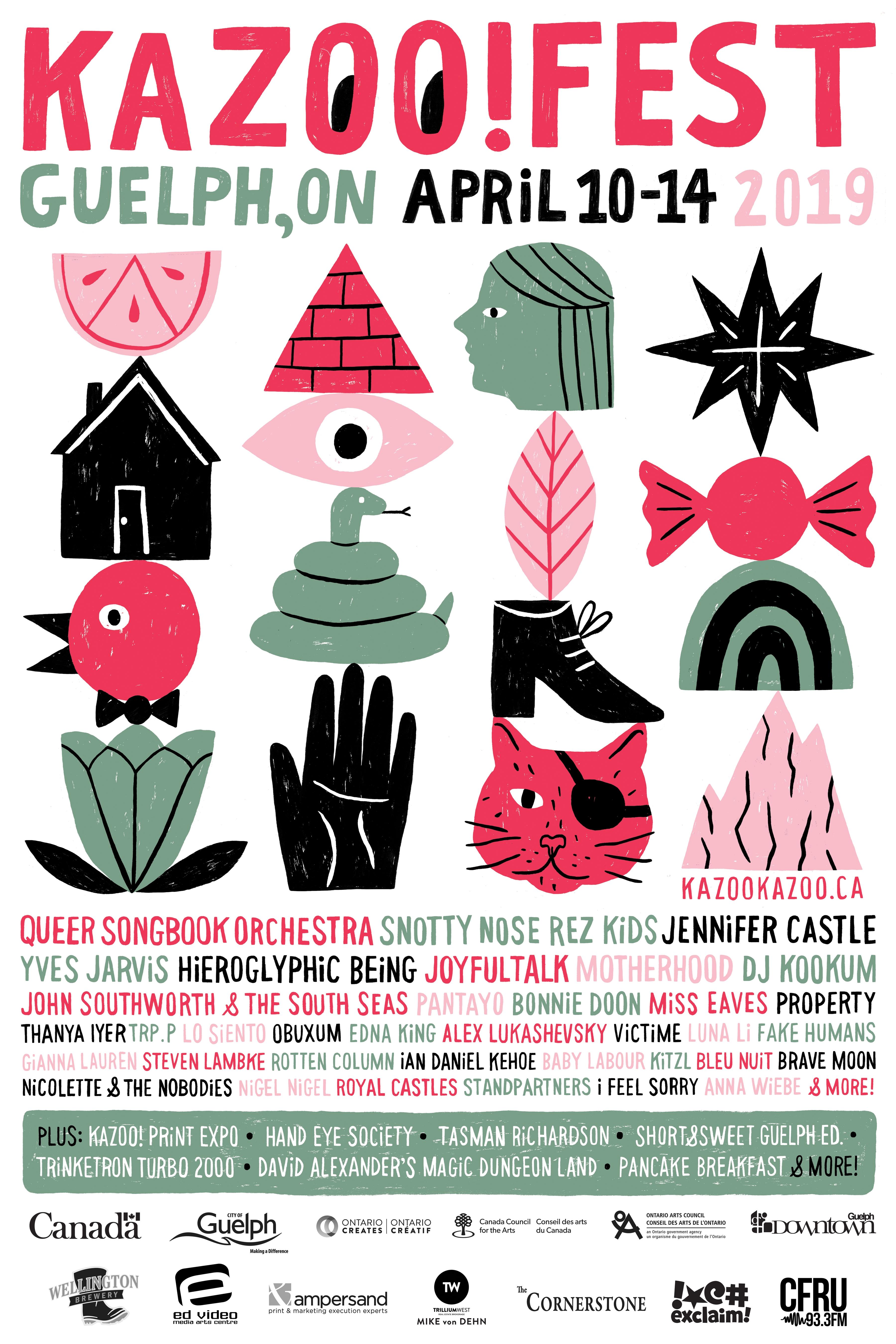 Kazoo! Fest 2019 Poster